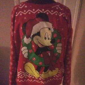 Disney light up Christmas sweater Size 19/2XL